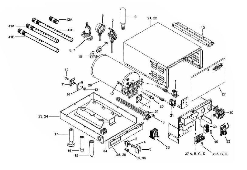 hobart c44a dishwasher parts manual