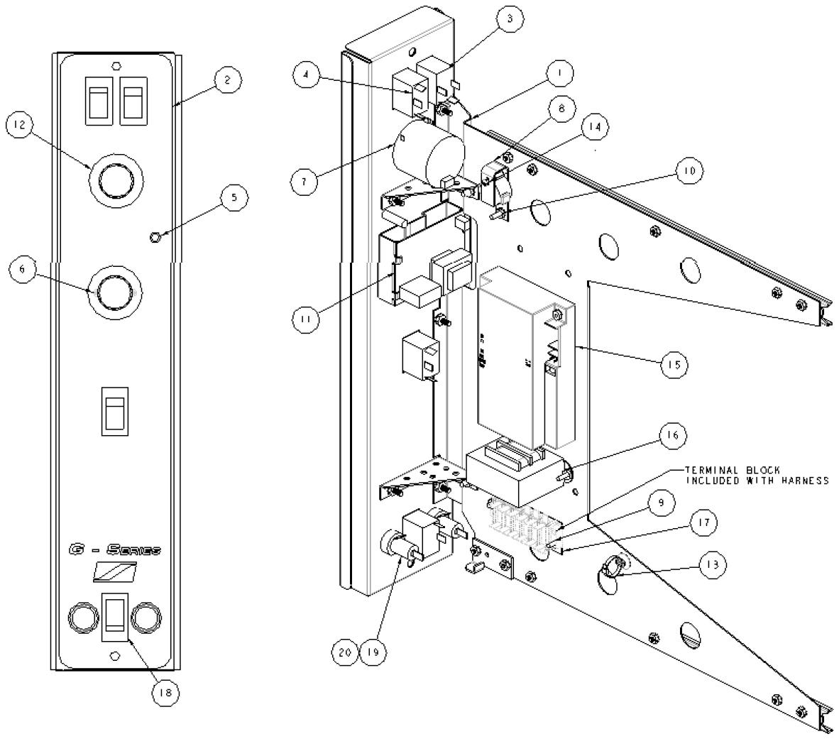 imperial fryer wiring diagram lawn mower engine parts
