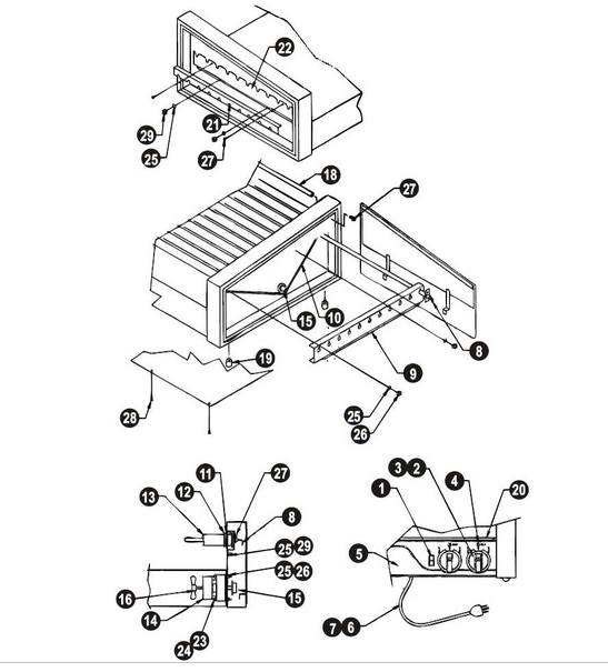 A Wyott M95 Wiring Diagram
