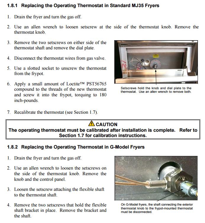 frymaster 806 7972 mj35 mj35ce thermostat fryer thermostat diagram