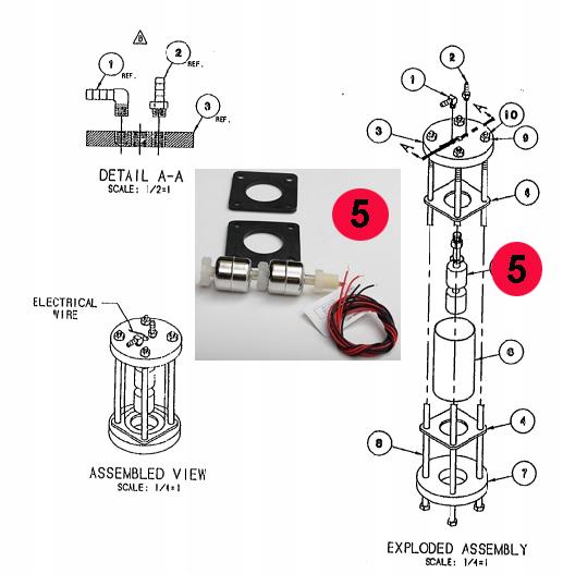 Cleveland FK103726 Float Switch Kit on