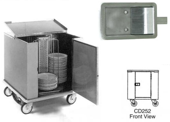 Carter Hoffman Food Warmer Diagram