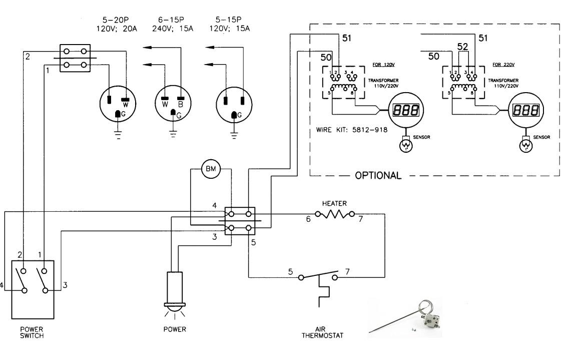 Selco CAP0602201 Thermostat For Crescor