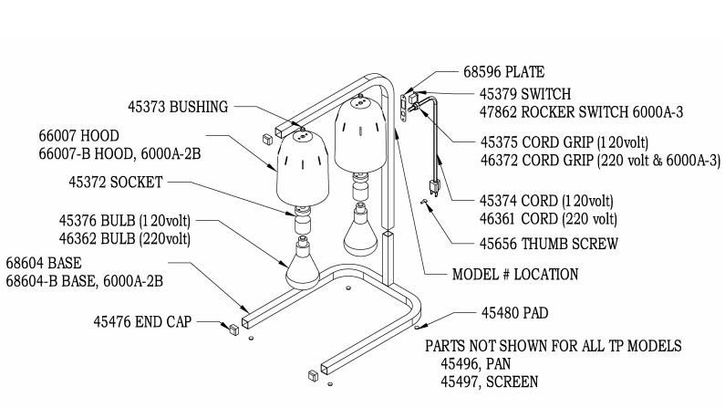 Nemco Warmer Diagram