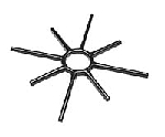 Southbend 1126900 Spider Grate