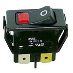 Hatco Switch rck dpst 16A 125V illum grn 02.19.080.00