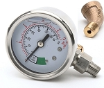 Cleveland KE000714-4 Pressure Gauge For Steamer