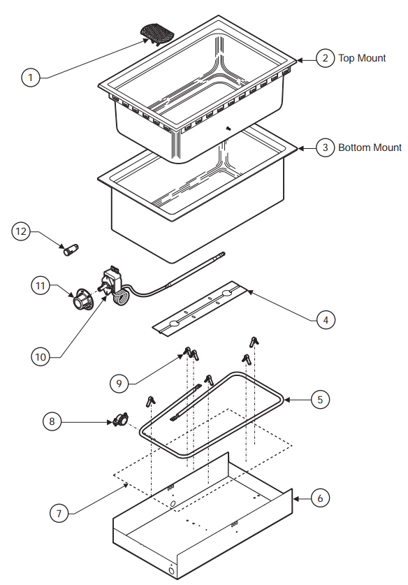 Wells Warmer Parts Diagram