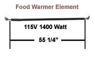 Food Warmer Element # R02.08.113.00